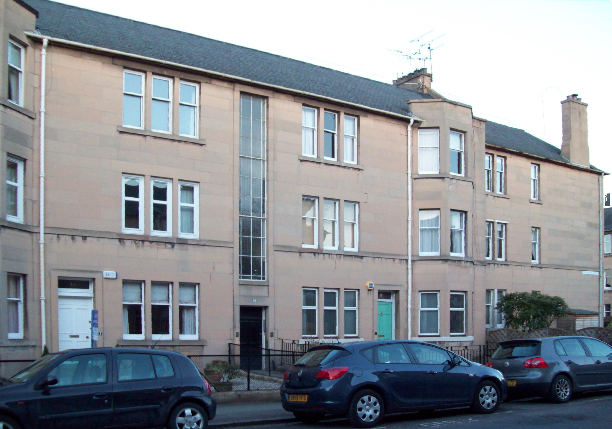 The children of george and florence shirran for 17 learmonth terrace edinburgh