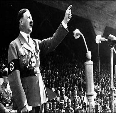 Nazi Adolf Hitler Profile.